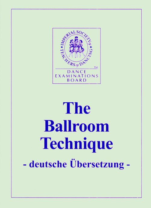 ISTD Ballroom Technique...