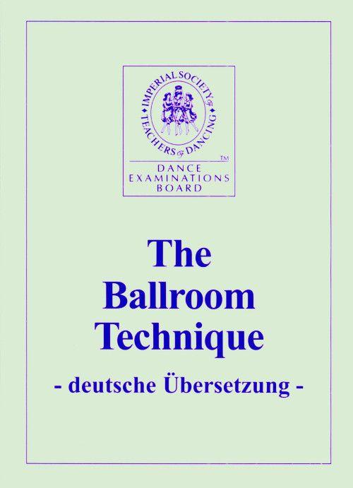 ISTD Ballroom Technique...