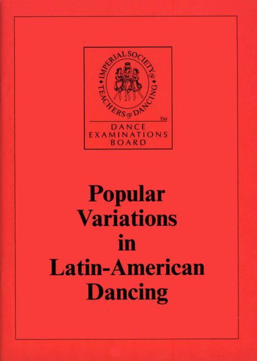 ISTD Popular Variations In Latin